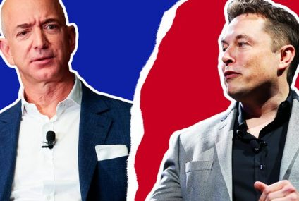 The Feud of the Tech Titans: Elon Musk vs Jeff Bezos