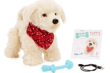 Georgie: The Friendly Interactive Electronic Plush Puppy