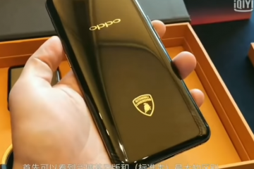 Laborghini Fan? Check Out the Oppo Find X LAmborghini Edition: Sleek as the Design, Fast as the Car