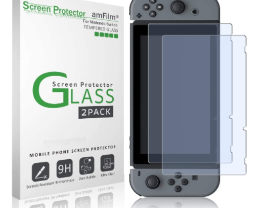nintendo switch tempered glass