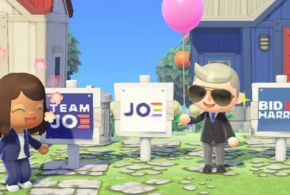 Animal Crossing: Joe Biden Campaigns in an Online Game