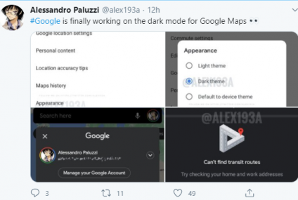 Dark Mode Google Maps is Here! Learn How to Activate it