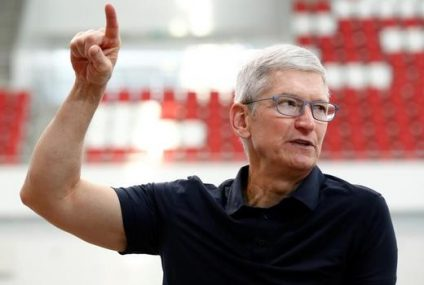 Apple's Tim Cook Receives $114 Million of Stock Unit, Assuring He'll Stay as CEO