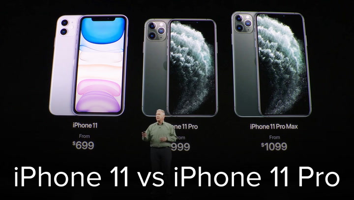 Apple iPhone 11 range from last year