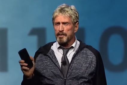 Anti-virus creator John McAfee jailed for 1-5 years in US for tax evasion