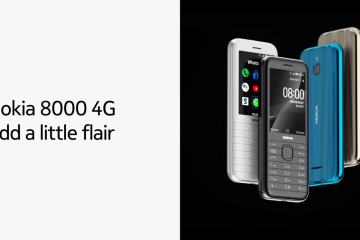 Specs And Features Of HMD Global's Best Looking Feature Phone, Nokia 8000 4G.