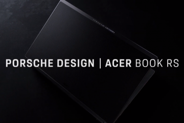Acer Book RS gets new Porsche Design with 11th gen intel processors