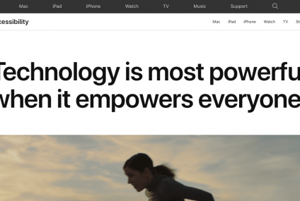 Newly Improved Accessibility Site and Support Videos for All Apple Users