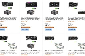 Nvidia, AMD Shortage: Newegg Blamed Over Out of Stock GPUs