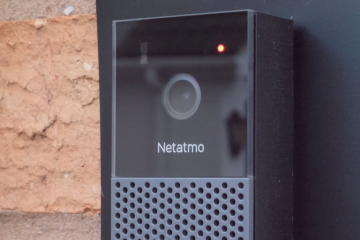 Smart Video Doorbell of Netatmo supported by HomeKit: Now available in the US!