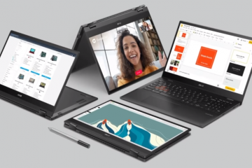 4 of the Chromebooks introduced in CES 2021