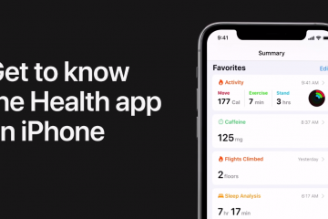 Stay in Shape and Healthy with the tracking iPhone features