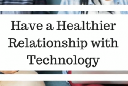 Tips for a healthier relationship with technology