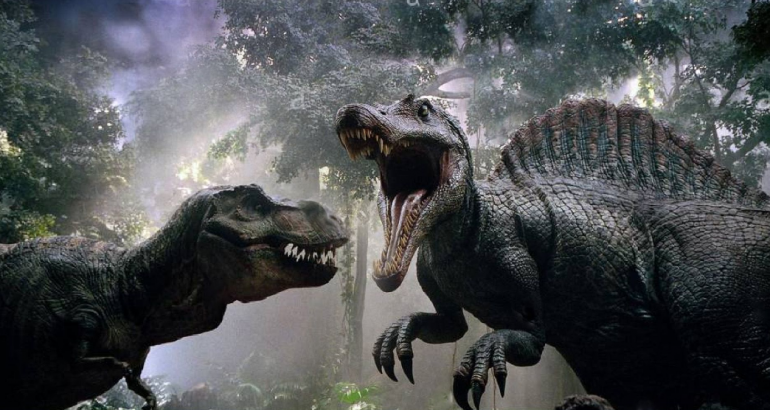 Jurassic World and Park's ALL Dinosaur Fights! Most Paused Moments