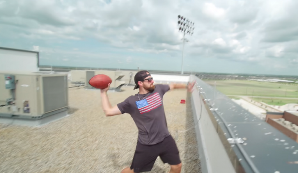 Dude Perfect, one of the most subscribed YouTube channels in 2021
