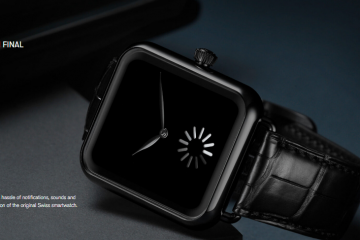 H Moser & Cie's Apple-Mocking Watch Tells Time Forever?