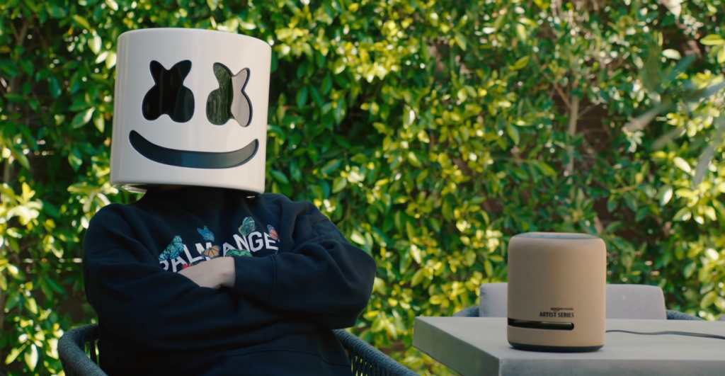 Marshmello, one of the most subscribed YouTube channels in 2021