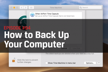 Backup Files: Simple Ways to do it