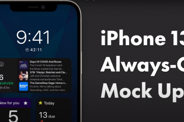 iPhone 13 is rumored to be the first iOS that supports an always-on display feature
