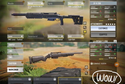 CoD: Mobile Game Guide: How to Get SP-R 208 Marksman Rifle