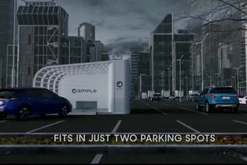 Ample Stations to charge EV batteries in 10 minutes by swapping