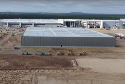Tesla's ongoing project of a huge 100 MW battery storage in Texas