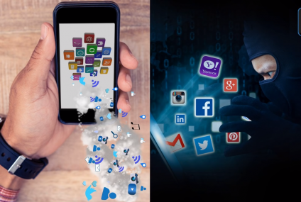Be aware that more apps are sharing data online