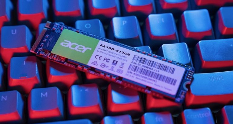 Acer Logo To Appear on RAM and SSDs made by BIWIN