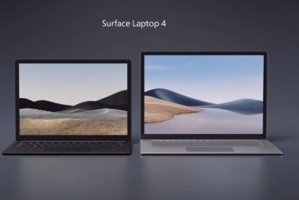 Microsoft Surface Laptop 4 with free earbuds on preorders!