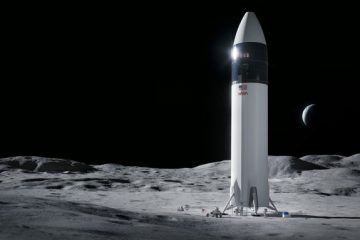 SpaceX Bags NASA's Lunar Lander Contract