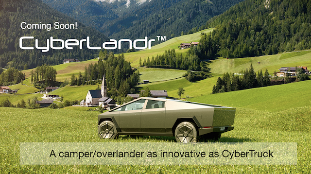 All You Need To Know About Tesla's Cyberlandr
