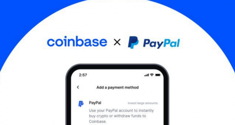 Coinbase, PayPal Collab: You Can Now Buy Crypto Using PayPal Account