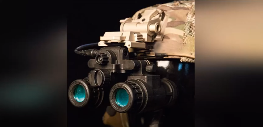 US Army's Night Vision Goggles See Enemies Outlined in Glowing Light