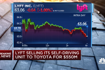 Lyft Calls It A Day On Developing Self-Driving Tech, Selling Its Whole AV Division To Toyota