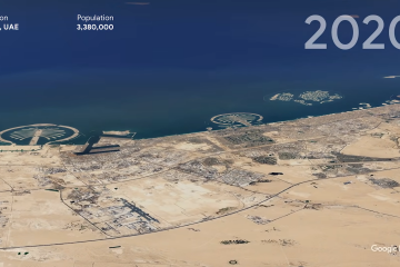 Google Earth's New And Improved Timelapse Feature