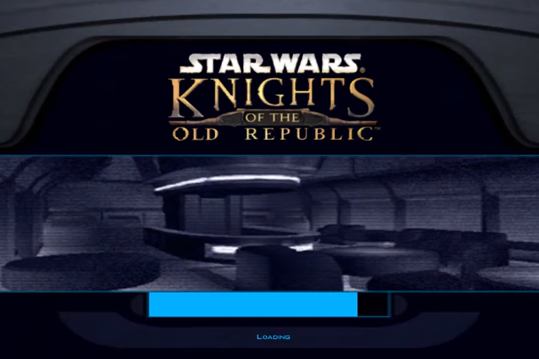 Star Wars: Knights of the Old Republic Loading Screen