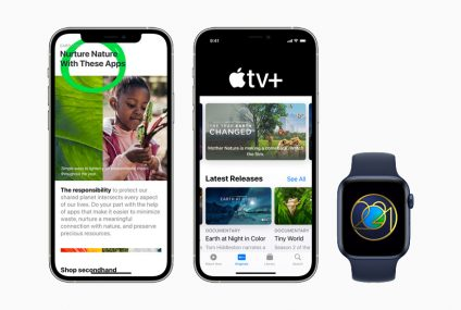 Apple Honors Earth Day With Its 2021 Celebration