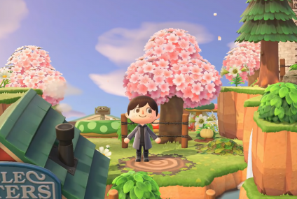 Spring Makes Its Way to Animal Crossing For April