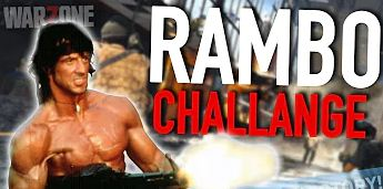 """Rambo Teaser on Call of Duty """"Warzone"""""""