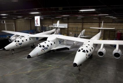 SpaceShipTwo Makes Maiden Flight To Space From New Mexico