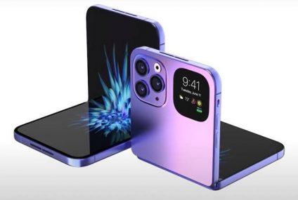 Apple To Premiere 8-Inch Foldable iPhone In 2023