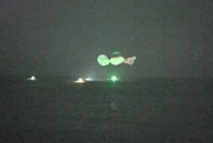 SpaceX: Dragon Capsule Makes First Nighttime Splashdown Since '68