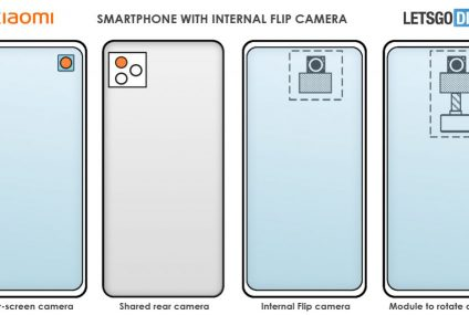 Xiaomi Patents Technology For A Rotatable, Under-display Camera