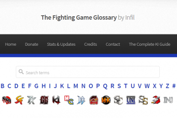 The Fighting Game Glossary: Best Game Information Resource