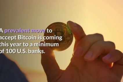 Hundreds of US smaller banks offer crypto transactions using existing bank accounts.