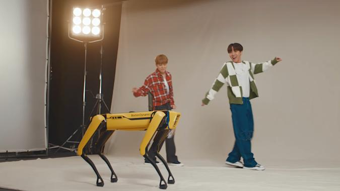 Boston Dynamics robot partners with BTS in 'creepy' cute video