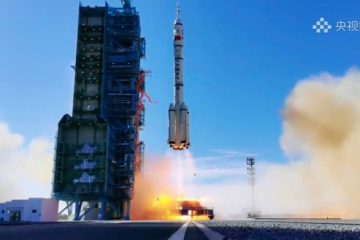China Launches First Crewed Space Mission In Five Years