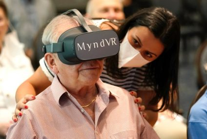 A Study Is Trying To Find Out If VR For Seniors Can Be Helpful