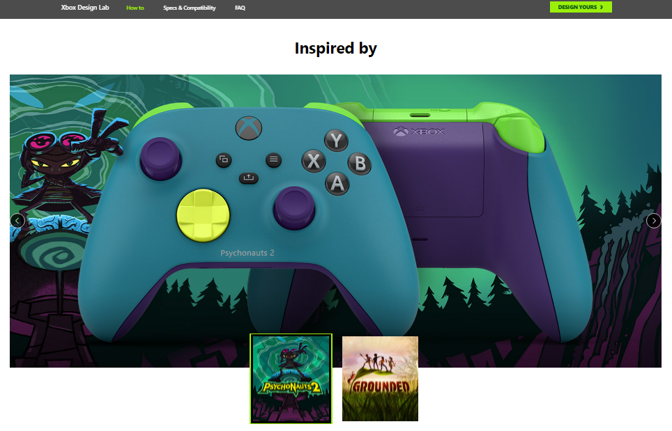 Xbox Design Lab Now Has More Options For Your Peripheral