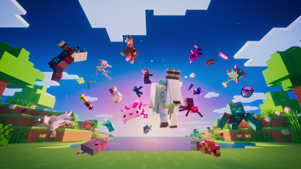 Image from Minecraft YouTube